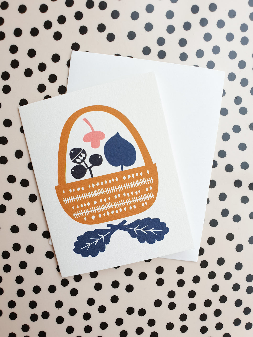 Darling Clementine Hunt + Gather Card