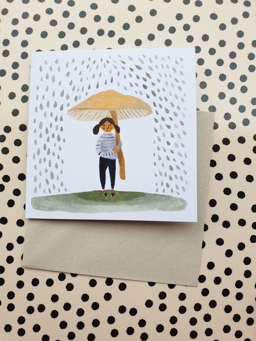 Gemma Koomen It Rains Card