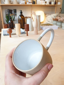 CLAE Raw Exterior White Interior Mug