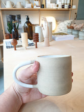 Load image into Gallery viewer, CLAE Raw Exterior White Interior Mug