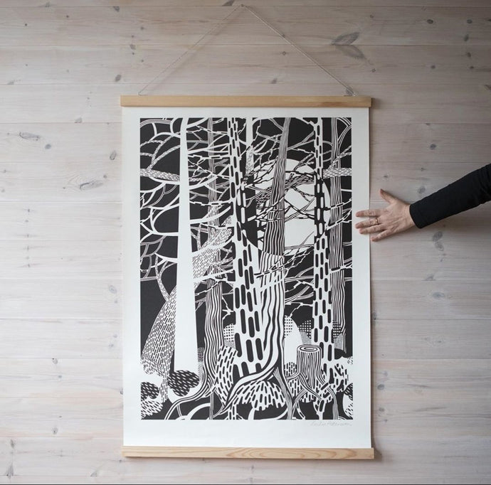 Cecilia Pettersson Limited Edition Fir Forest Print