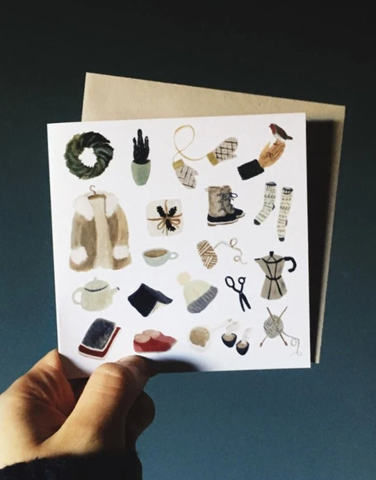 Gemma Koomen Little Winter Pleasures Card