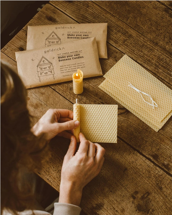 Goldrick Beeswax Candle Making Kit