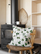 Load image into Gallery viewer, Fine Little Day Clover Embroidered Cushion Cover