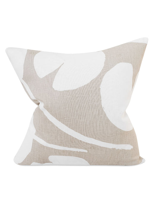Water Lilies Cushion Cover - Sand
