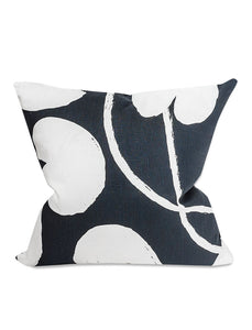 Fine Little Day Water Lilies Cushion Cover - Night Blue