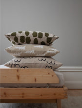 Load image into Gallery viewer, Fine Little Day Cushion Cover Dots - Olive