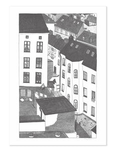 Fine Little Day - Gårdsutsikten Print