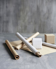Load image into Gallery viewer, Monograph Kraft Gift Wrapping Paper