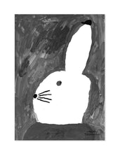 Load image into Gallery viewer, Fine Little Day Rabbit with Small Hat Poster