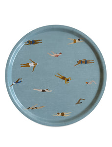 Fine Little Day Swimmers Round Tray