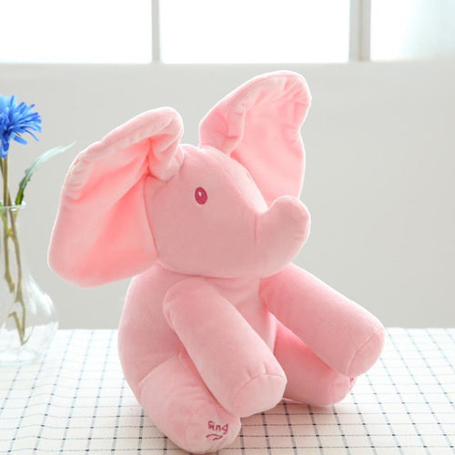 Hirundo Music Plush Elephant, Hide-and-seek game Electric Toy