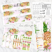 FOIL MONTHLY PLANNER STICKER KIT - ALOHA