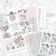 CELEBRATE | FOIL WEEKLY PLANNER STICKER KIT - STICKERS