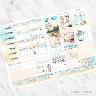 RETREAT | FOIL B6 PLANNER STICKER KIT - STICKERS