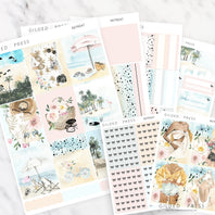 RETREAT | FOIL WEEKLY PLANNER STICKER KIT - STICKERS