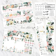 FOIL MONTHLY PLANNER STICKER KIT - VAMPIRESS - STICKERS