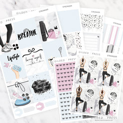 STRONGER | FOIL WEEKLY PLANNER STICKER KIT - STICKERS