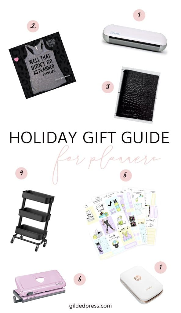 2018 Planner Holiday Gift Guide