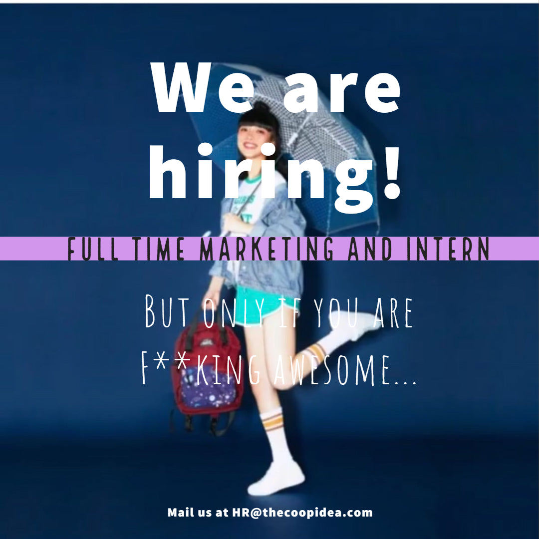 WE ARE HIRING~ YAHHHHHH