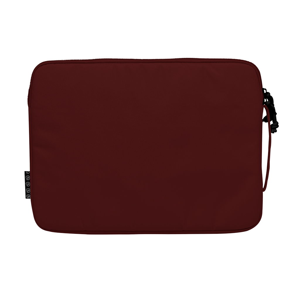"13.3"" Laptop Sleeve in ADVENTURE Dark Red"