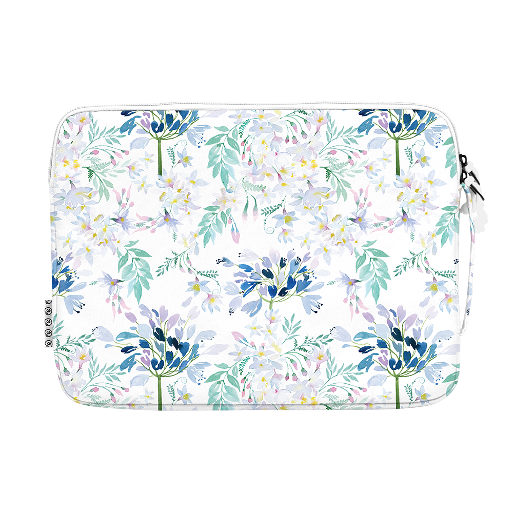"13.3"" Laptop Sleeve in DREAMY Watercolor Floral"