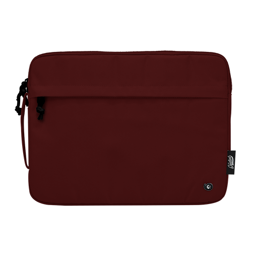 "13"" Macbook sleeve in ADVENTURE Dark Red"