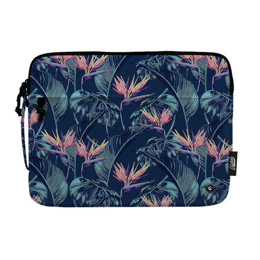 "13"" Macbook sleeve in ADVENTURE Orange Flower"