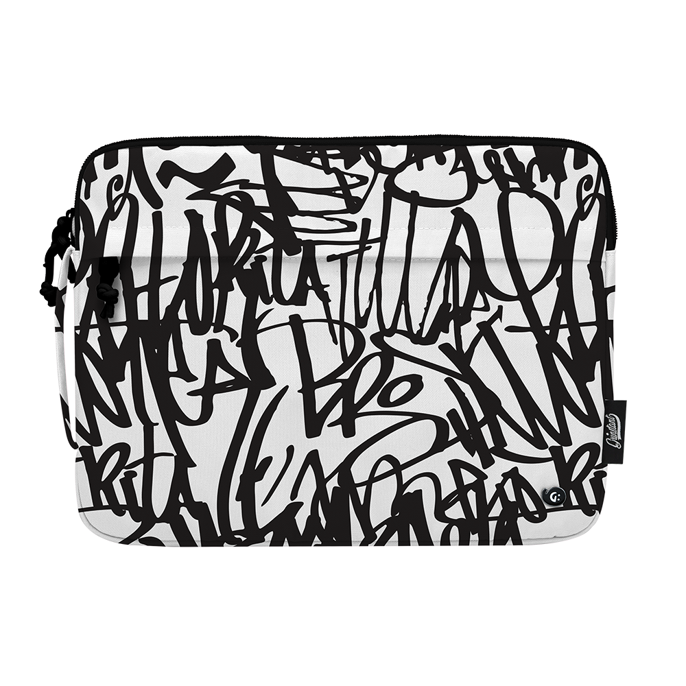 "13.3"" Laptop Sleeve in MONO Graffiti"