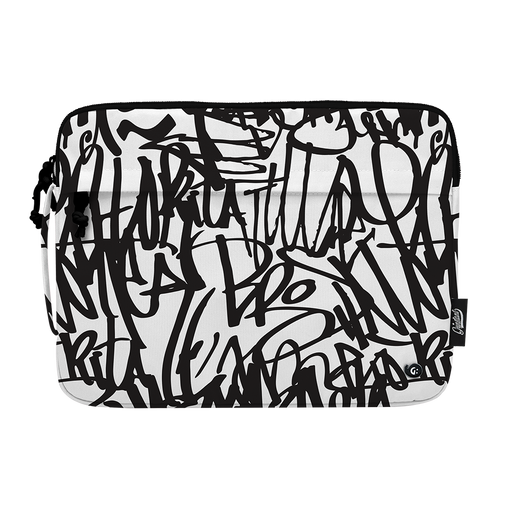 "13"" Macbook sleeve in MONO Graffiti"