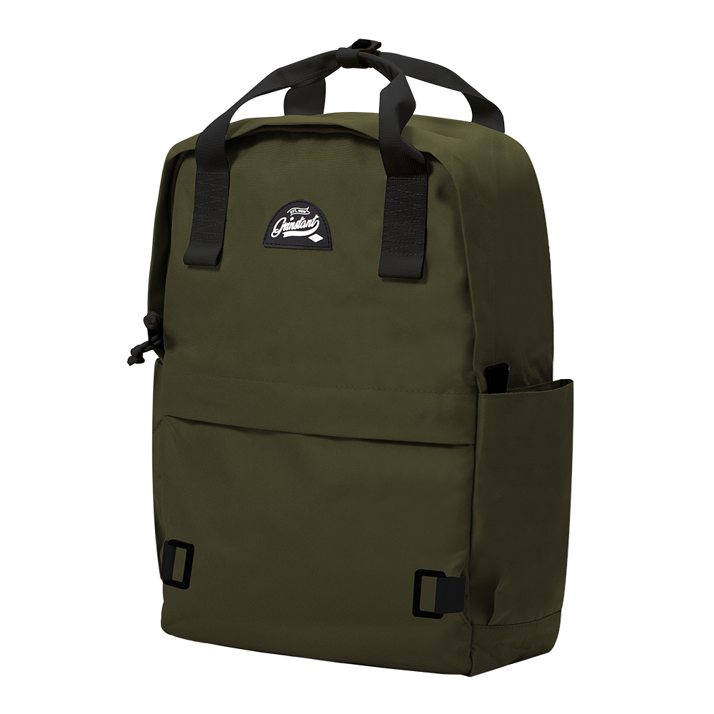 "CARA 15.6"" Backpack in ADVENTURE Army Green with Coin Pouch"