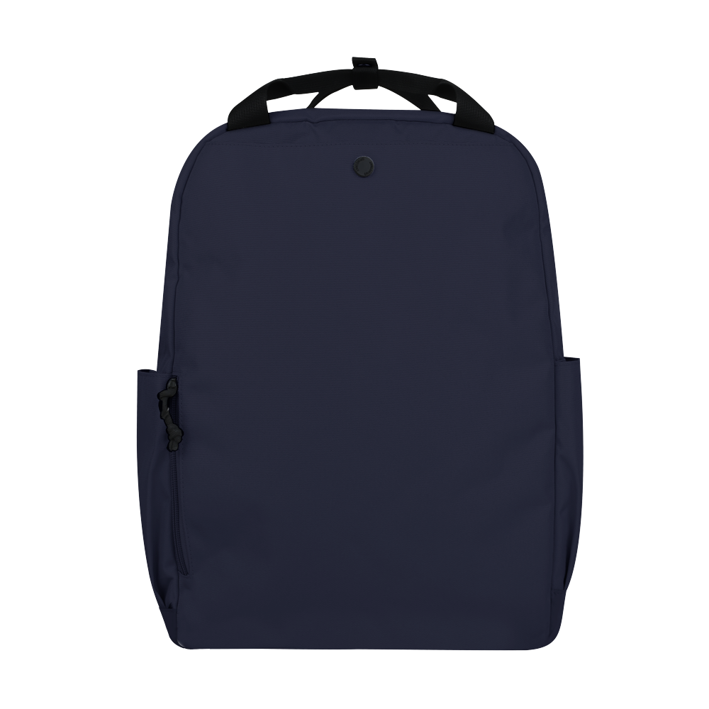 "CARA 15.6"" Backpack in ADVENTURE Navy Blue with Coin Pouch"