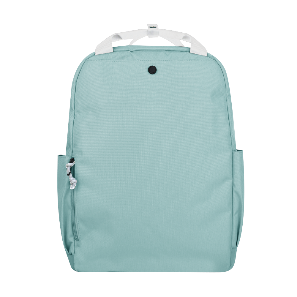 "CARA 15.6"" Backpack in DREAMY Light Blue with Coin Pouch"