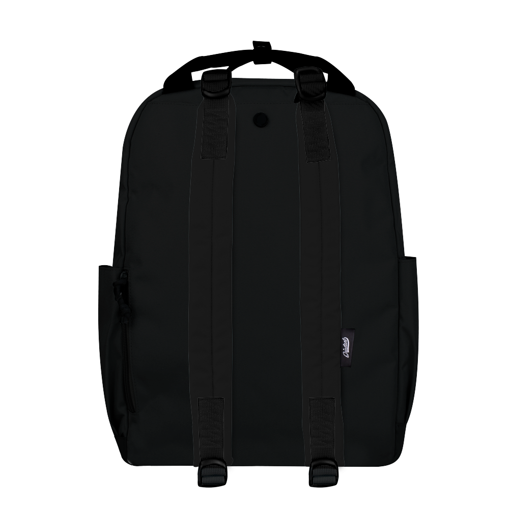 "CARA 15.6"" BACKPACK - MONO BLACK EDITION"