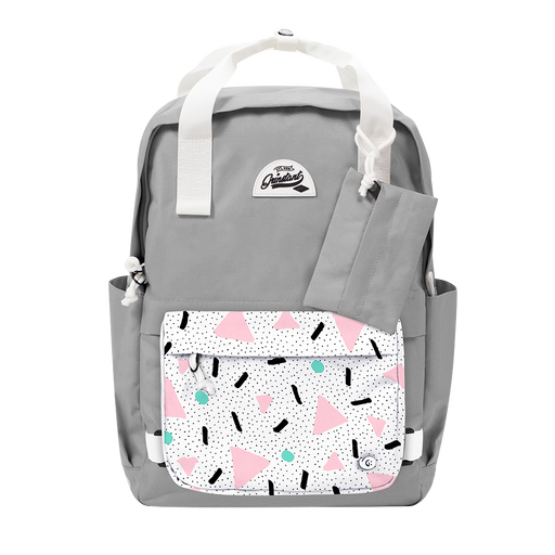"CARA 15.6"" BACKPACK - DREAMY LIGHT GREY EDITION"