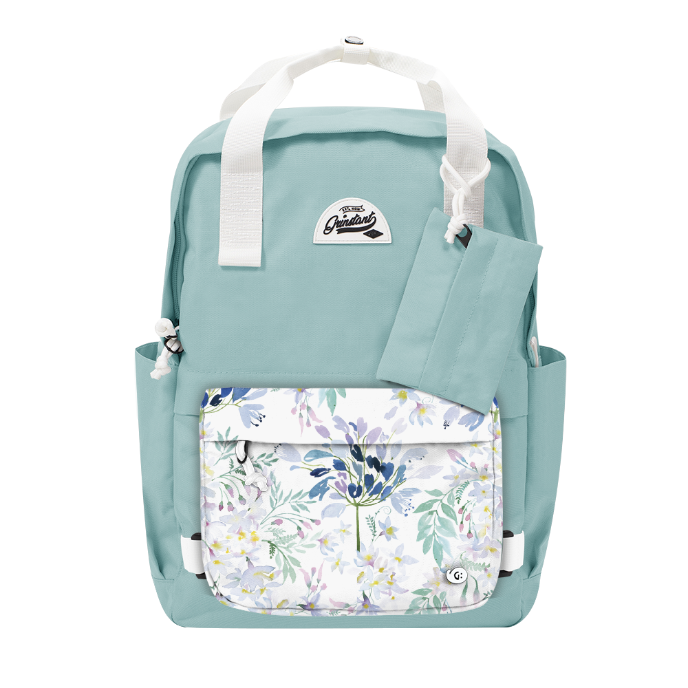 "CARA 15.6"" BACKPACK - DREAMY LIGHT BLUE EDITION"