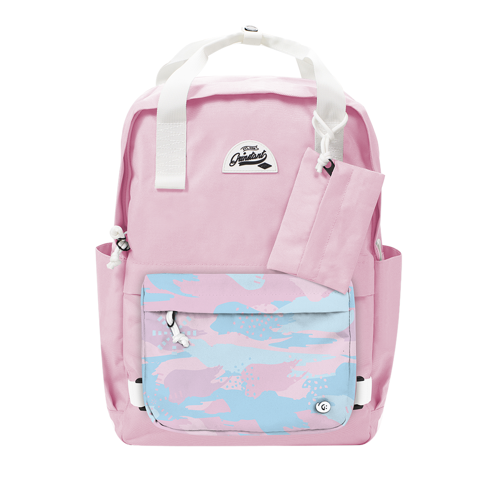 "CARA 15.6"" BACKPACK - DREAMY BABY PINK EDITION"
