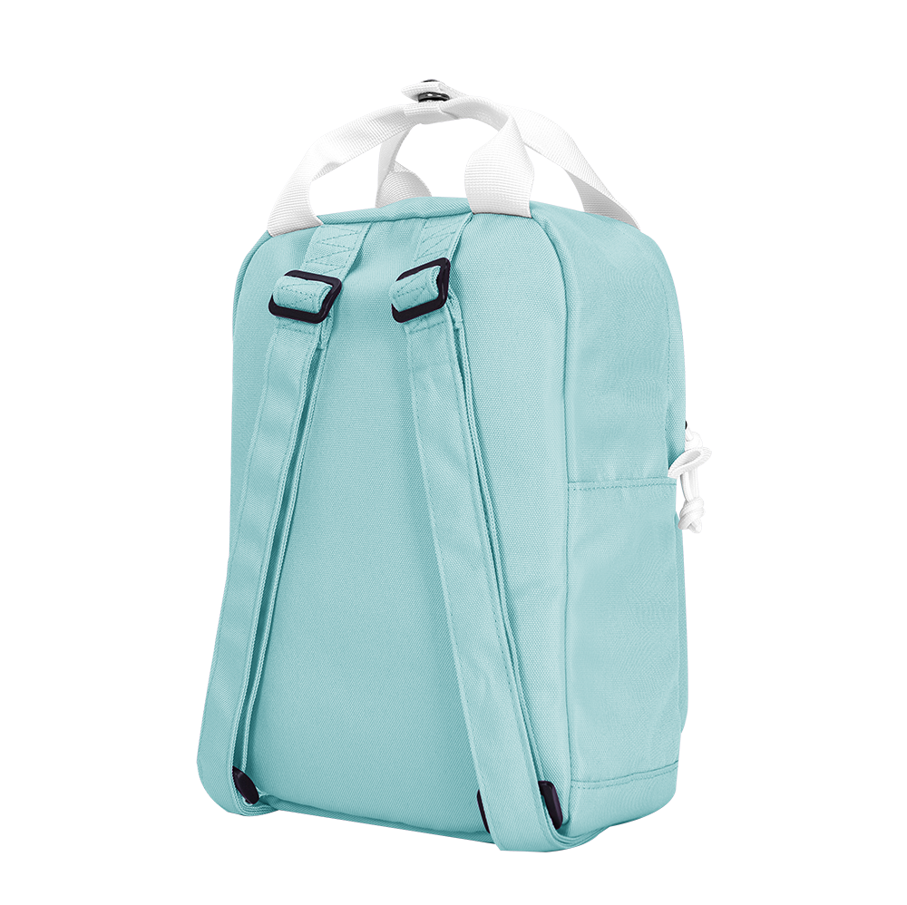 "CARA 9.7"" Mini Backpack in Dreamy Light Blue"