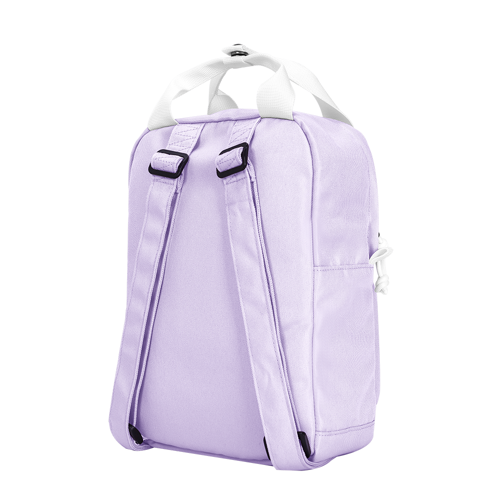 "CARA 9.7"" Mini Backpack in Dreamy Lavender Purple"
