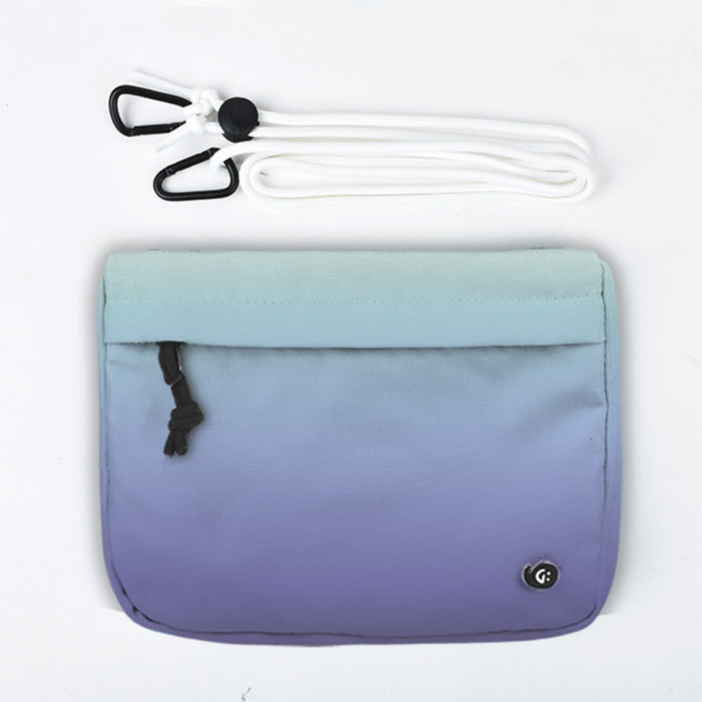 ADVENTURE Blue Purple Gradient Front Pocket