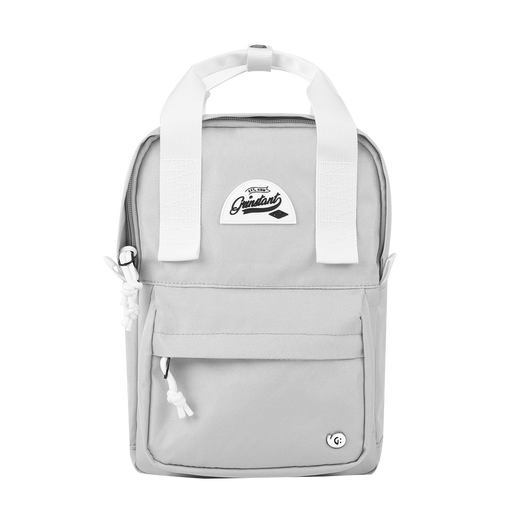 "CARA 9.7"" Mini Backpack in Dreamy Light Grey"