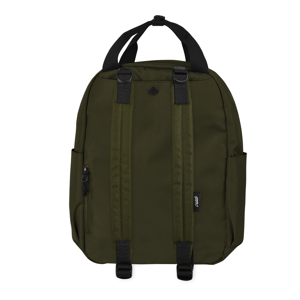 "CARA 13"" BACKPACK - ADVENTURE ARMY GREEN EDITION"