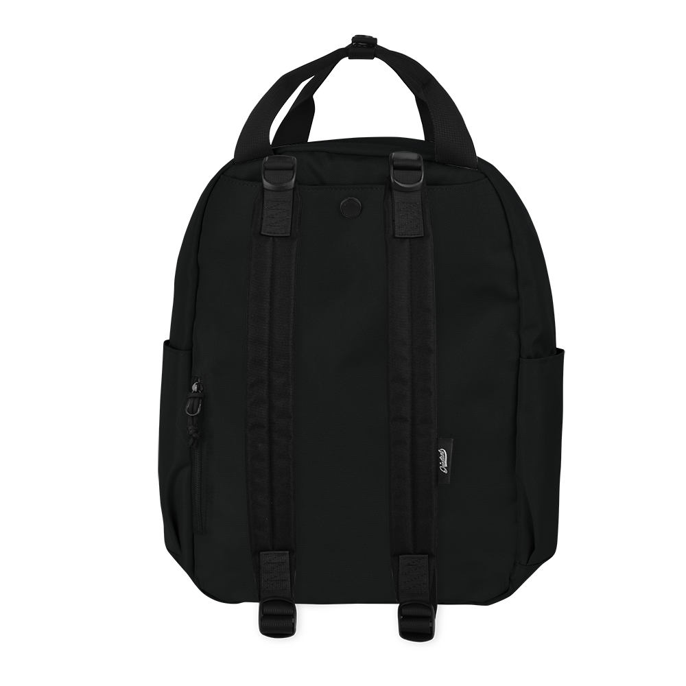 "CARA 13"" BACKPACK - MONO BLACK EDITION"