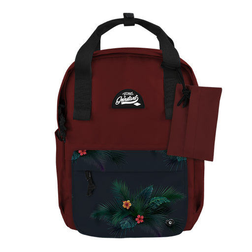 "CARA 13"" BACKPACK - ADVENTURE DARK RED EDITION"