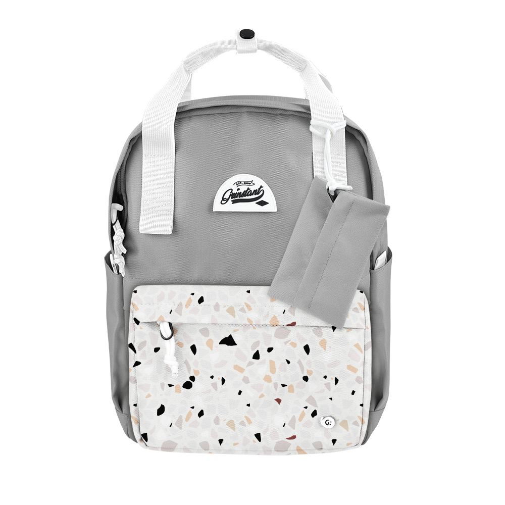 "CARA 13"" BACKPACK - DREAMY LIGHT GREY EDITION"