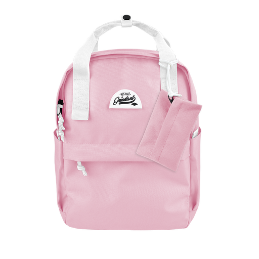 CARA Backpack in DREAMY Pink with Coin Pouch