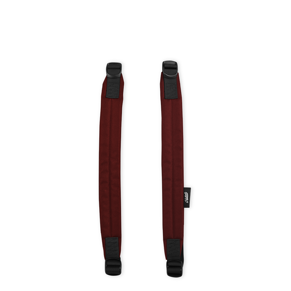ADVENTURE Dark Red Shoulder Straps