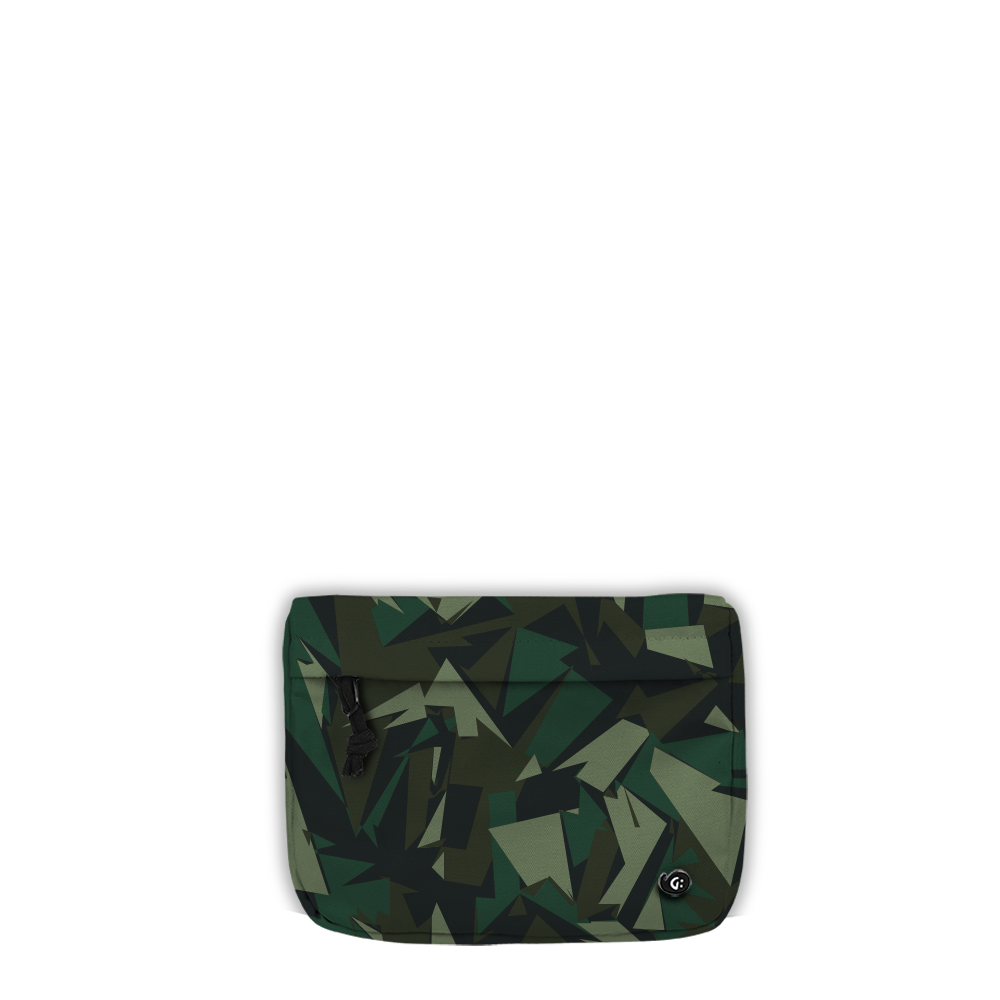 ADVENTURE Green Camo Front Pocket