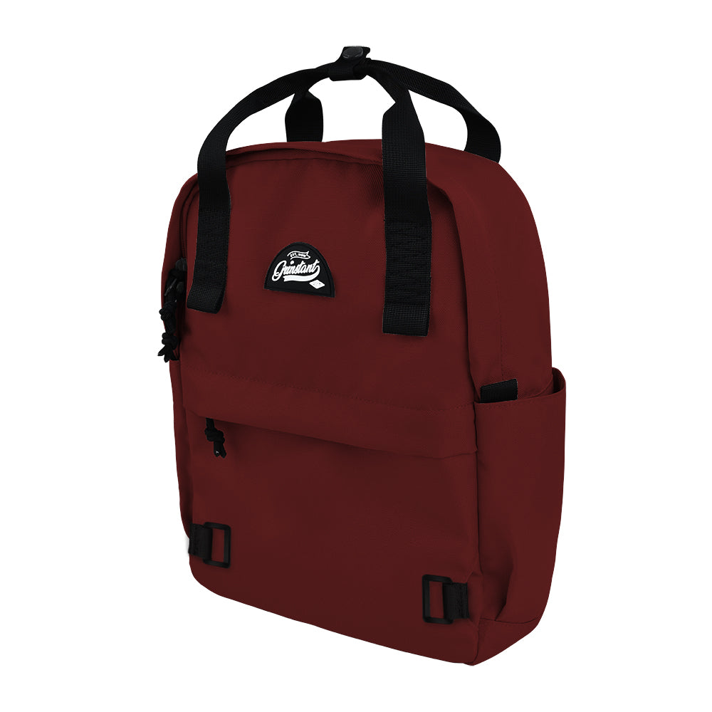 CARA Backpack in ADVENTURE Dark Red with Coin Pouch