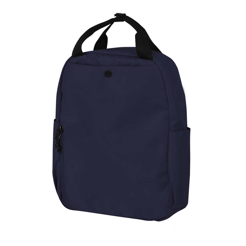 "CARA 13"" Backpack in ADVENTURE Navy Blue with Coin Pouch"